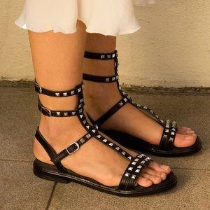 Free People Dani Gladiator Studded Strap Sandals